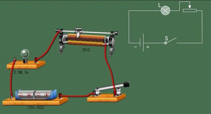 1,按照电路图连接实物,将滑动变阻器滑片移动到最大阻值位置,闭合开